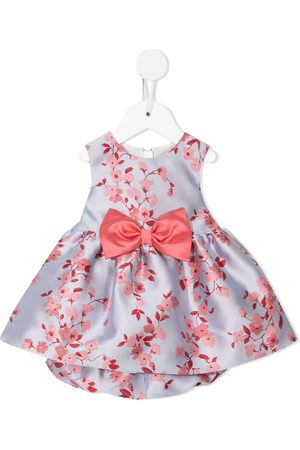 HUCKLEBONES LONDON Floral-print bodice dress and bloomers