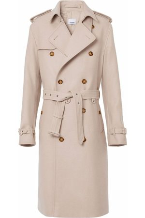 Burberry Cropped-back trench coat