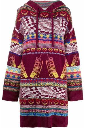 Stella McCartney Dames Gebreide truien - Intarsia-knit jumper