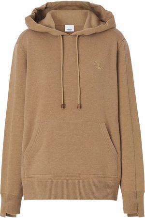 Burberry Monogram-motif wool-blend hoodie