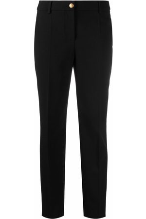 Moschino Mid-rise slim-fit trousers