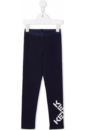 Kenzo Meisjes Leggings - Logo-print stretch-cotton leggings
