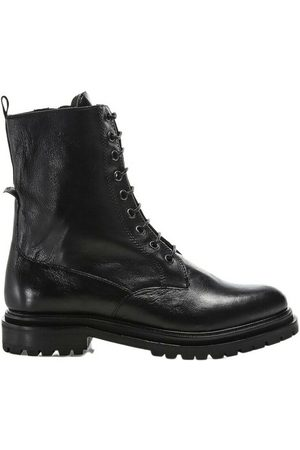 Hudson Resnick leather lace-up boots
