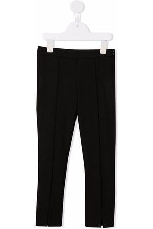 Moncler Mid-rise fleece leggings
