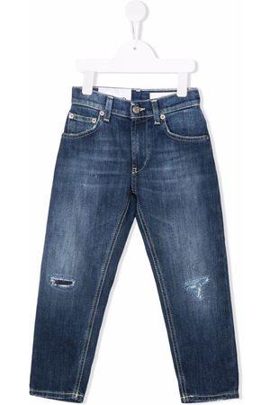 Dondup Distressed-effect slim-cut jeans