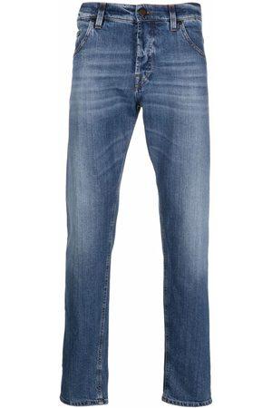 PT05 Heren Straight - Fadded-effect straight-leg jeans