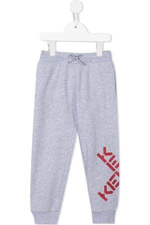 Kenzo Logo-print cotton track pants