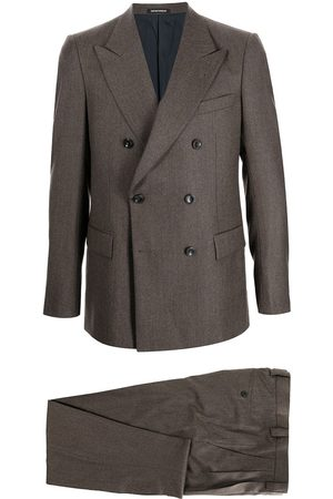 Emporio Armani Double-breasted tapered suit
