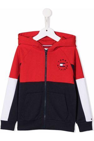 Tommy Hilfiger Jongens Hoodies - Colour-block logo hoodie
