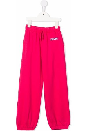 Levi's Embroidered-logo track pants