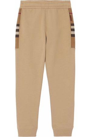 Burberry Heren Joggingbroeken - Check-pattern track pants
