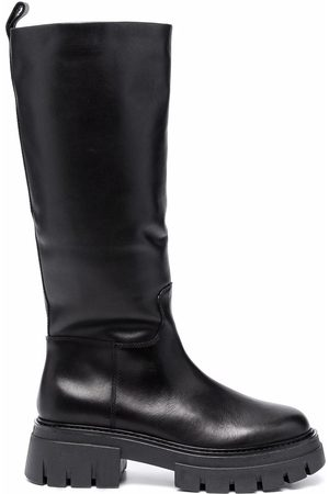 Ash Lucky 65mm leather boots