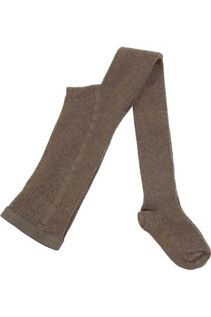 BONPOINT Meisjes Panty's - Thomini ribbed-knit cotton-blend tights