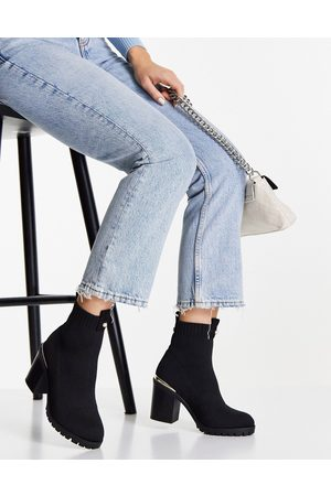 Miss KG Harmony heeled boots in black