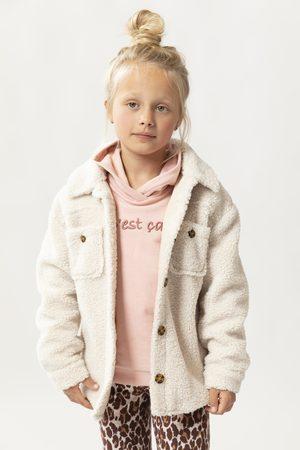Sissy-Boy Meisjes Donsjassen - Beige teddy jas