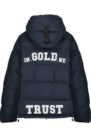 in gold we trust kids Jongens Donsjassen - Kids The Storm Back Logo White
