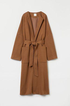 H&M Dames Donsjassen - Lange mantel