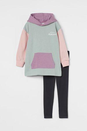 H&M Meisjes T-shirts - 2-delige set