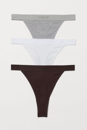 H&M Dames Slips - Set van 3 slips - Thong