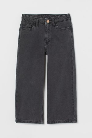 H&M Wide Leg Ankle Jeans