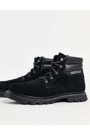 Caterpillar Quadrate lace up boots in black