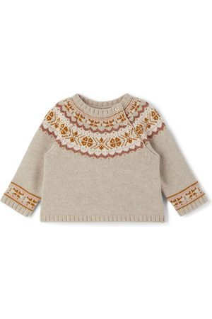 BONPOINT Sweaters - Baby Merino Wool Pull Toulouse Sweater