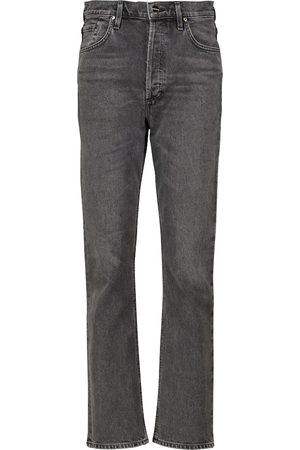 Goldsign Dames High waisted - The Morgan high-rise straight jeans