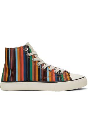 Paul Smith Heren Sneakers - Striped Carver Sneakers