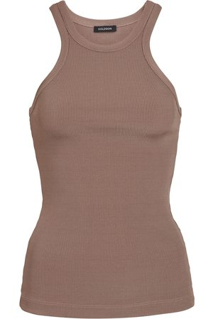 Goldsign Dames Tanktops - The Laurel ribbed-knit tank top