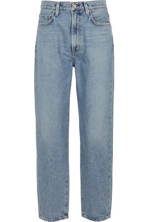 Goldsign The Peg high-rise straight jeans