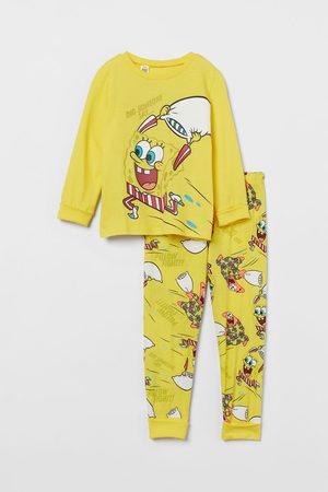 H & M Jongens Pyjama's - Pyjama met extra lange boorden