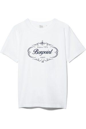 BONPOINT Jongens Korte mouw - Logo print short-sleeve T-shirt