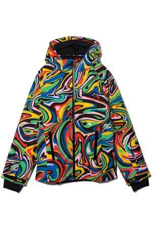 Stella McCartney Marble Ski hooded padded jacket