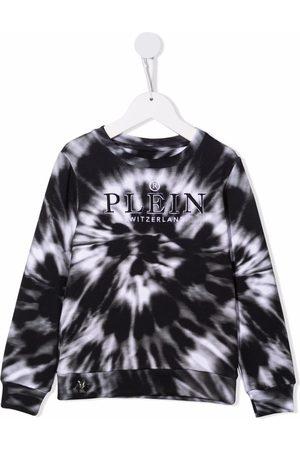 Philipp Plein Meisjes Sweaters - Tie-dye print sweatshirt