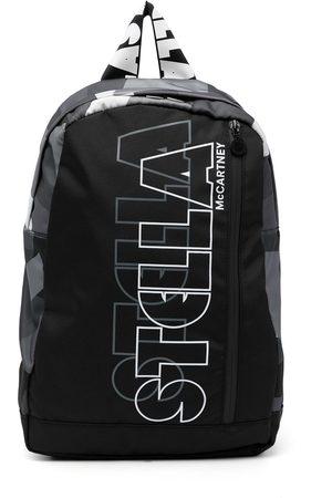 Stella McCartney Zipped logo backpack