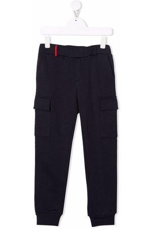 FAY KIDS Tapered-leg track pants