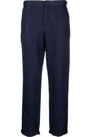 Orlebar Brown Broeken - Griffon linen tailored trousers