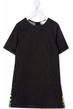 Stella McCartney Meisjes Casual jurken - Logo-print detail dress