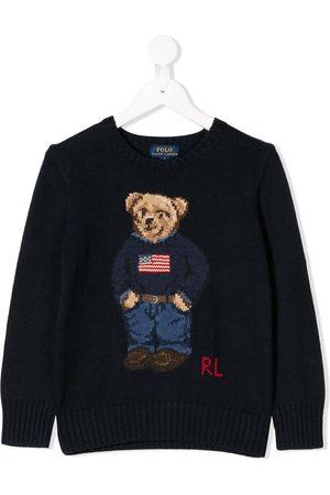 Ralph Lauren Bear knitted sweater