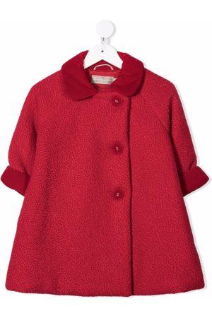 LA STUPENDERIA Textured single-breasted coat