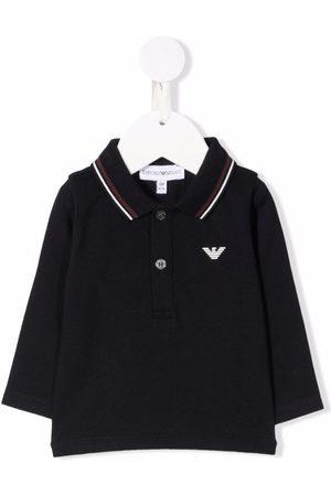 Emporio Armani Poloshirts - Logo-print polo shirt