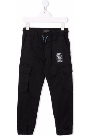 DKNY Jongens Cargo's - Patch cargo trousers