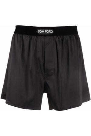 Tom Ford Logo-patch boxer briefs