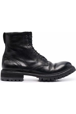 Premiata Polished leather ankle boots