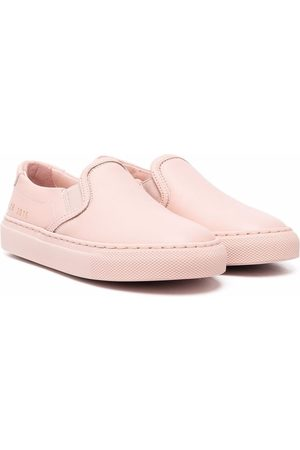 COMMON PROJECTS Jongens Instappers - Slip-on leather sneakers
