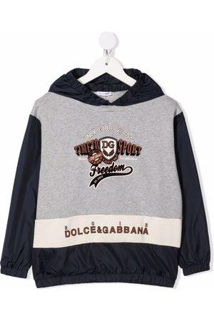 Dolce & Gabbana Jongens Hoodies - Logo print hoodie