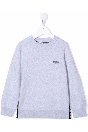 HUGO BOSS Logo embroidered sweatshirt