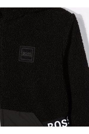 HUGO BOSS Reversible hooded jacket