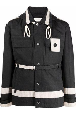 CRAIG GREEN Panelled utility hooded jacket