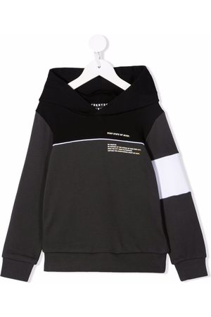 DKNY Logo long-sleeve hoodie